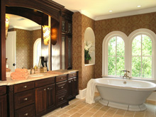 Awesome Salle De Bain Ancienne Bois Contemporary - ansomone.us ...